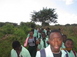 Learning by doing and helping the community in Mozambique